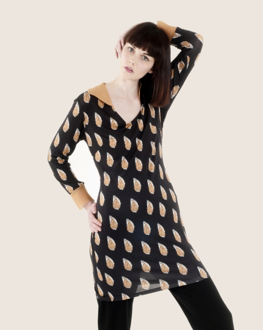 Silk jersey print